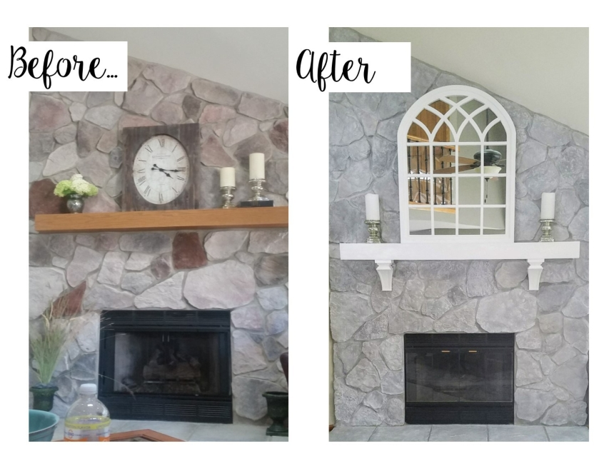 Fireplace Makeover #2